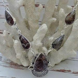 Jewelry - Coffee Bean Jasper Necklace